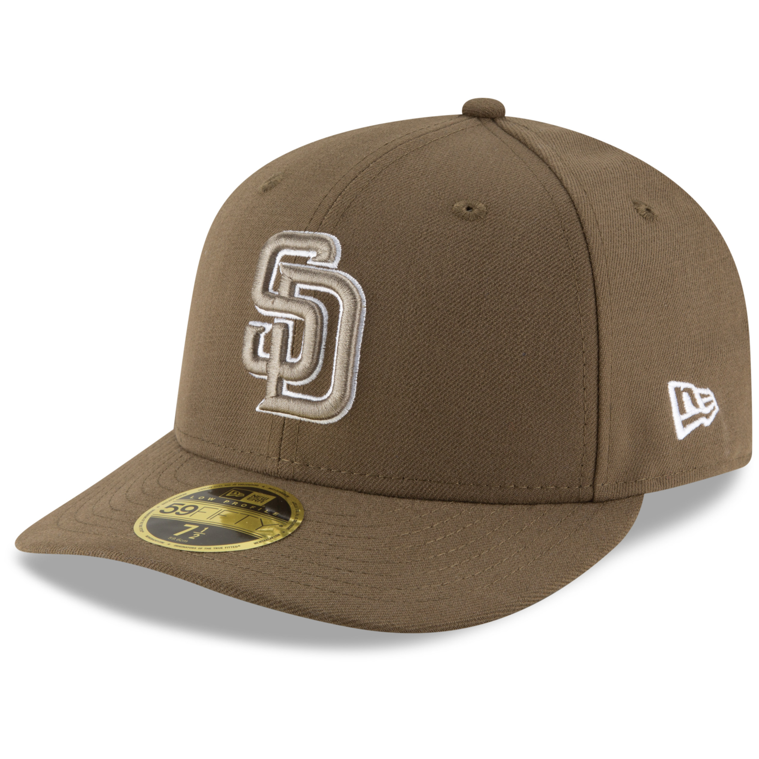 San Diego Padres New Era 2017 Authentic Collection On Field Low Profile 59FIFTY Fitted Hat - Brown