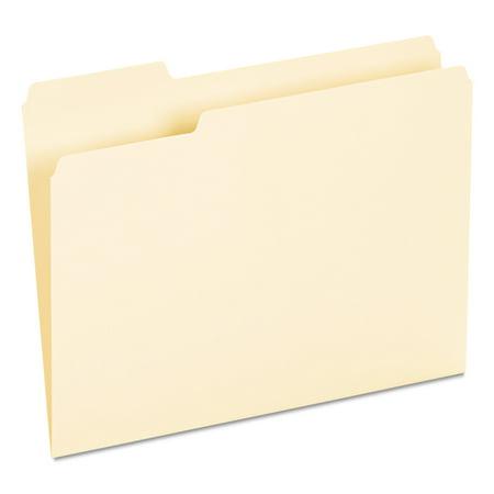 Universal Recycled Interior File Folders, 1/3 Cut Top Tab, Letter, Manila, 100/Box -UNV12213 (3 Tab File Folders)