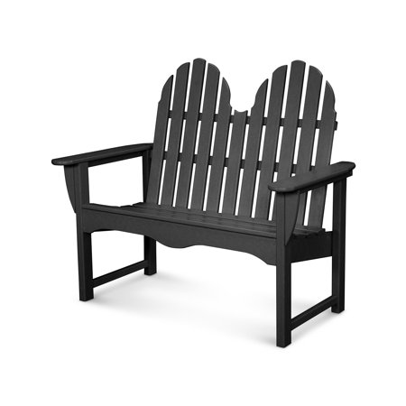 POLYWOOD® Classic Recycled Plastic 48.5 in. Adirondack Bench Adirondack 48 Bench