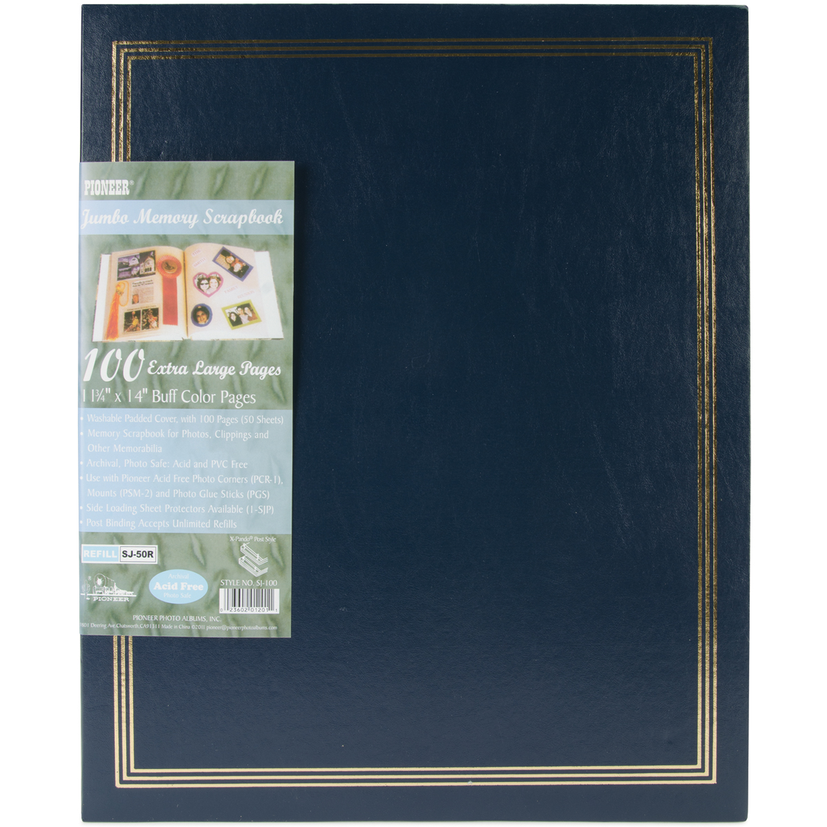 Postbound Refill Pages For SJ-100 25 Per Package 11 X14