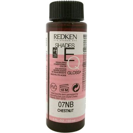Redken Shades Eq Color Gloss 07Nb - Chestnut For Women, 2 (Redken Eq Shades)