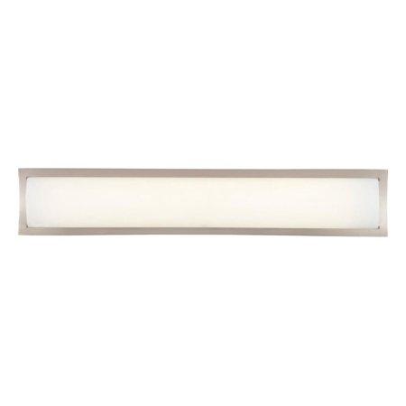 39w Wall Light (Philips Forecast 39W 277V Rene Bathroom Wall Light Lamp, Satin Nickel)