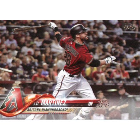 2018 Topps #257 J.D. Martinez Arizona Diamondbacks Baseball Card