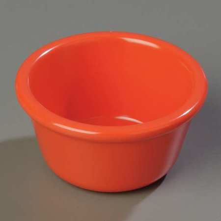 CARLISLE S28552 Smooth Ramekin, 4 oz., Sunset Orange, PK 48 by Carlisle