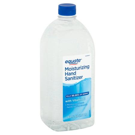 Equate Moisturizing Hand Sanitizer, 60 fl oz Now $5.97 **IN STOCK**