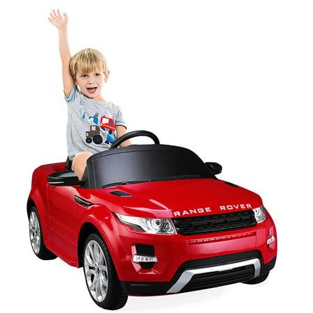 Costway Range Rover Evoque Licensed 12V Electric Kids Ride On Car MP3 RC Remote Control (Range Rover Evoque Toy)