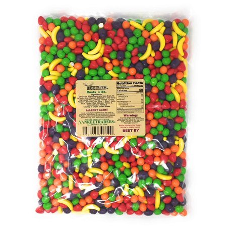 Assorted Fruit Candy - Assorted Fruit Runts Candy, 3 Pounds
