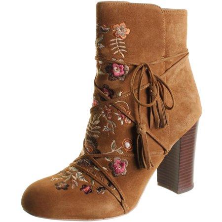 fb41d6144 Sam Edelman - Sam Edelman Womens Winnie Suede Boho Ankle Boots - Walmart.com