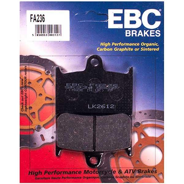 EBC Organic Brake Pads Front (2 sets required) Fits 09-12 Triumph Thunderbird