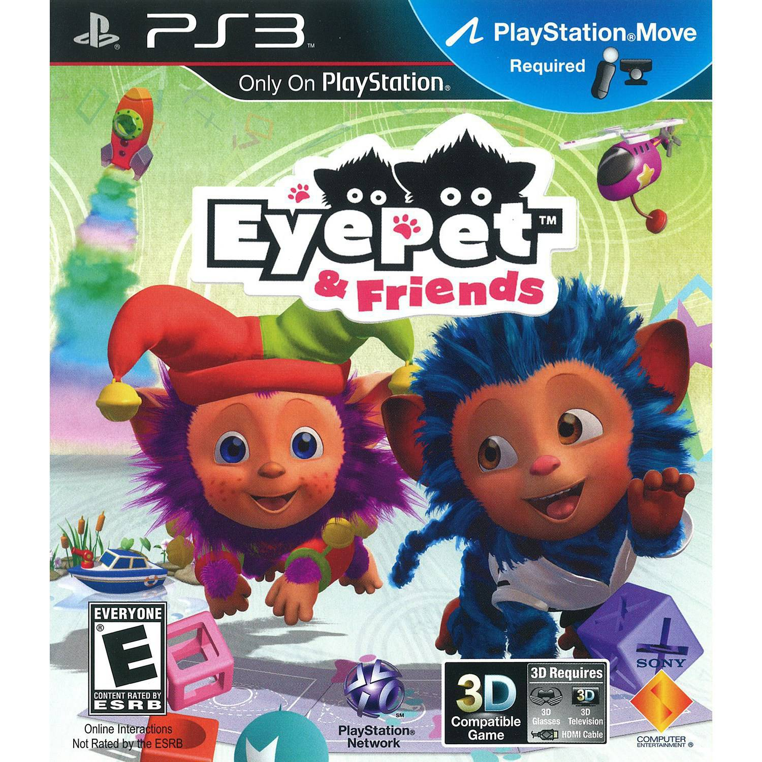EyePet & Friends (Game Only) (PS3) - Pre-Owned