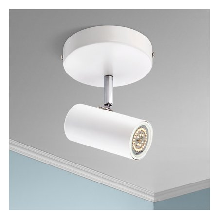 "Galena 8"" Wide White Finish LED Track Fixture by Pro Track"