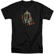 Arkham City Riddler Convicted Mens Big and Tall Shirt