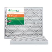AFB Bronze MERV 6 16x24x1 Pleated AC Furnace Air Filter. Pack of 4 Filters. 100% produced in the USA.