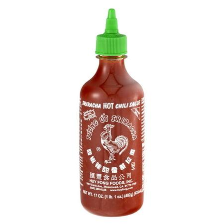 - (3 Pack) Huy Fong Sriracha Hot Chili Sauce, 17.0 OZ