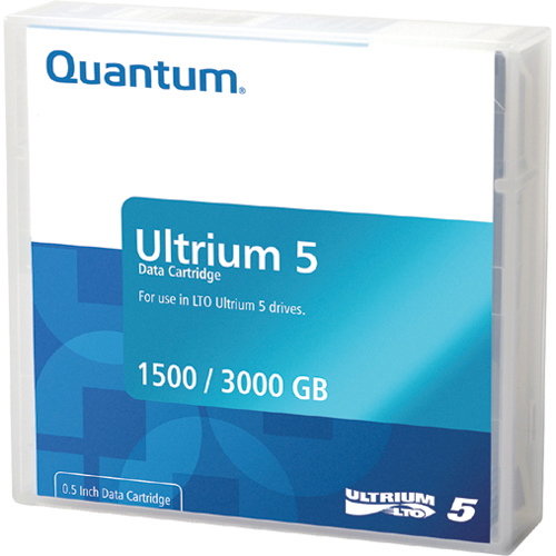 Quantum - MR-L5MQN-01-10PK - Quantum MR-L5MQN-01-10PK LTO Ultrium 5 Data Cartridge - LTO-5 - 1.50 TB (Native) / 3 TB