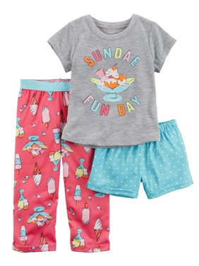 0b3192335 Carter s Little Girls Pajama Sets - Walmart.com