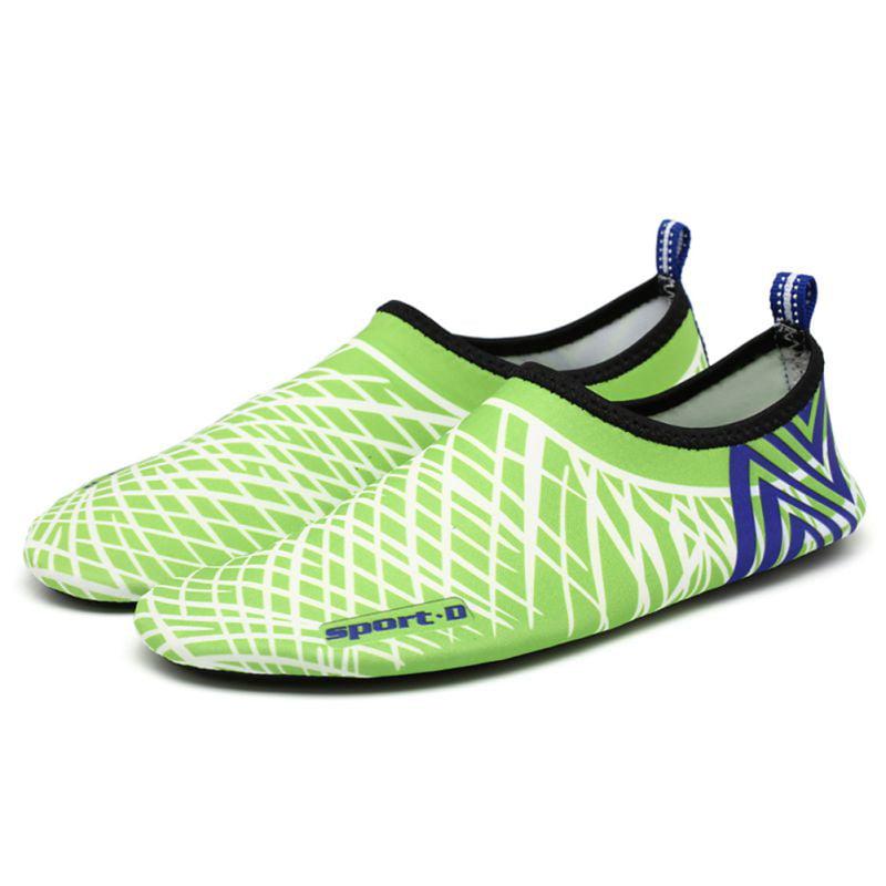 Click here to buy Women's Men's Water Shoes Slip On Flexible Pool Beach Swim Surf Yoga Unisex.