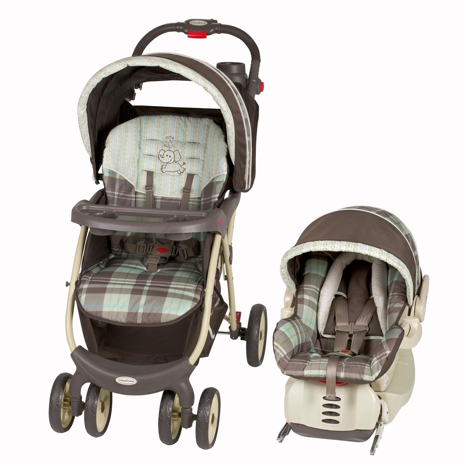 Baby Trend Envy 5 Travel System, Jungle Safari by Baby Trend
