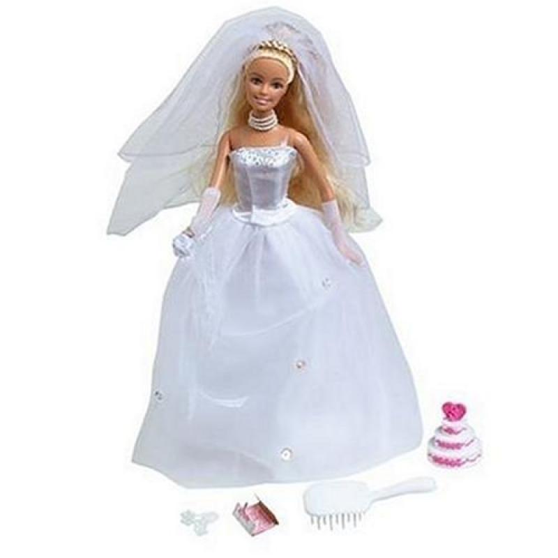 Beautiful Bride Barbie Doll by