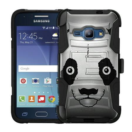 Samsung Galaxy Amp 2 Armor Hybrid Case   Panda