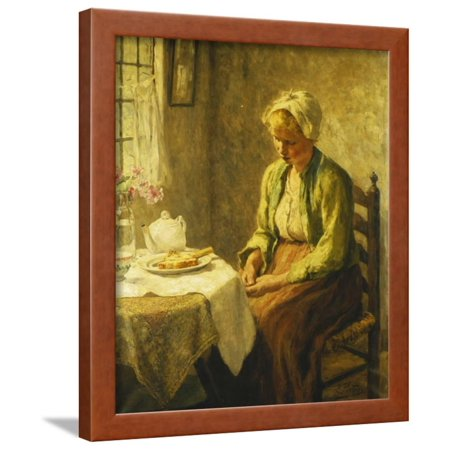 Grace before the Meal, 1927 Framed Print Wall Art By Evert Pieters