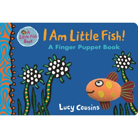 Fish Flingers (I Am Little Fish! a Finger Puppet Book (Board)