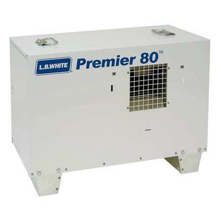 L.B. WHITE Portable Gas Heater,LP,80000 BtuH TS080ASPN220097