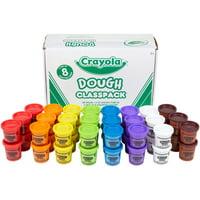 Crayola, CYO570174, Dough Classpack, 48 / Carton, Assorted
