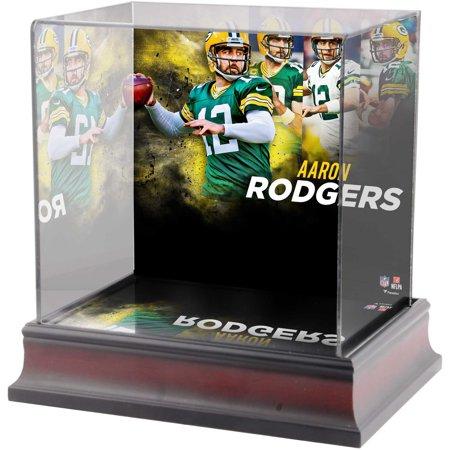 - Aaron Rodgers Green Bay Packers Deluxe Mini Helmet Case