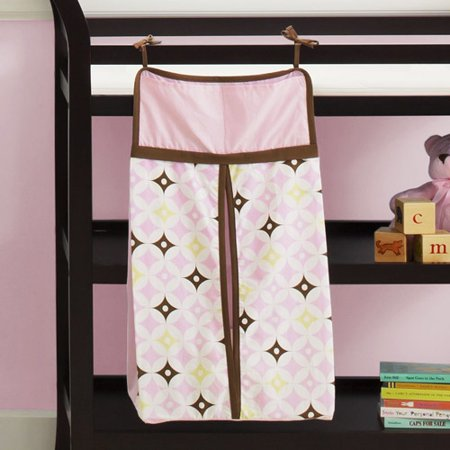 Chelsea   Main   Soft Twinkle Diaper Stacker  Pink
