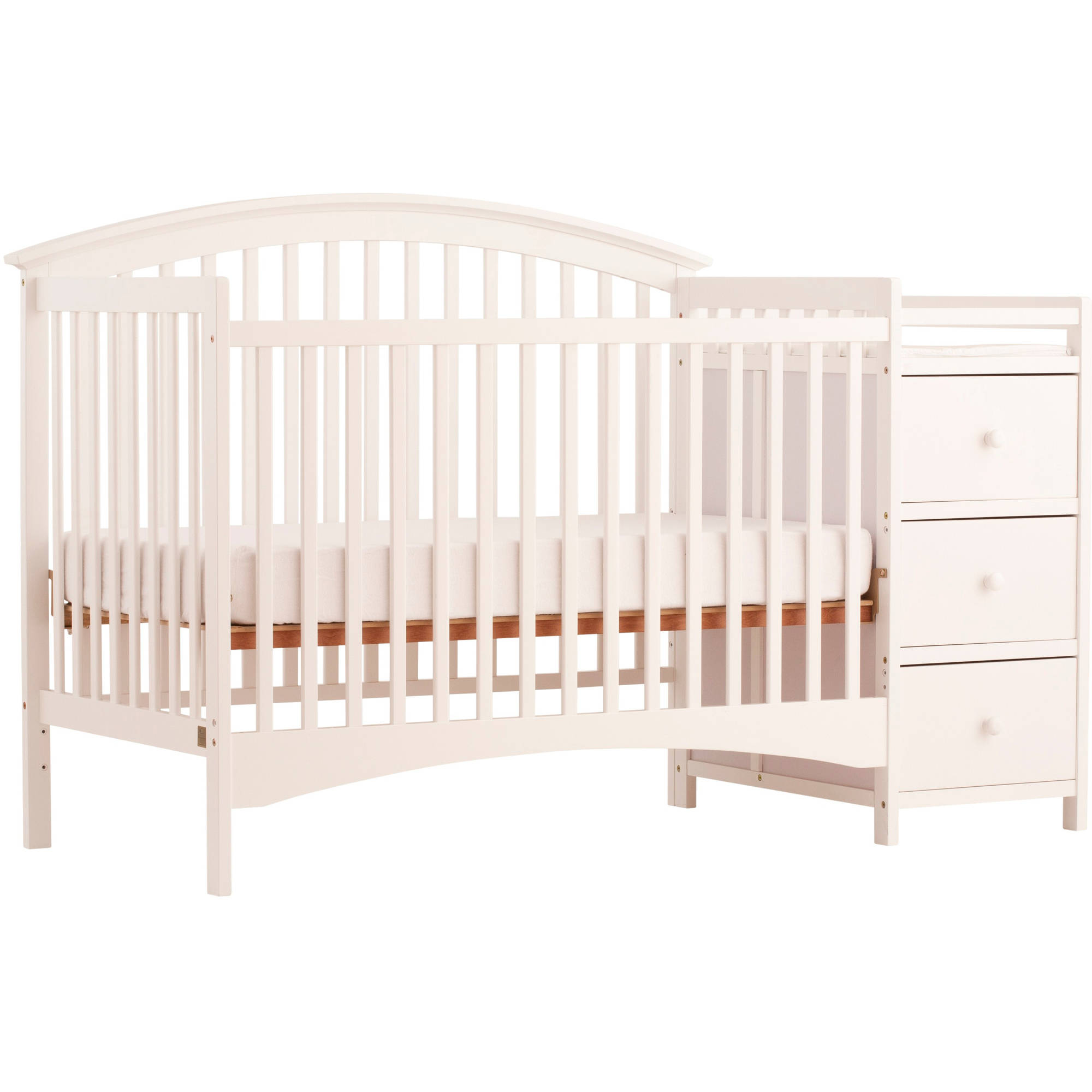 Storkcraft Bradford 4 in 1 Convertible Crib and Changing Table