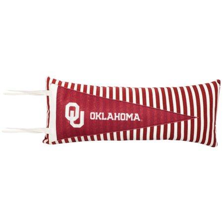 Oklahoma Sooners Pennant Pillow