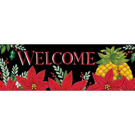 Christmas Pineapple - Custom Decor Signature Sign - Christmas Pineapple