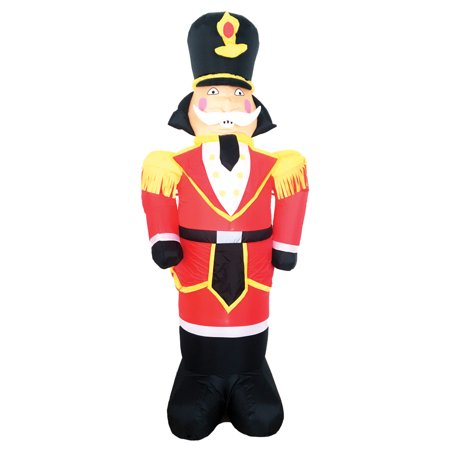 7 airblown inflatable toy soldier indooroutdoor christmas decoration prop - Outdoor Police Christmas Decorations