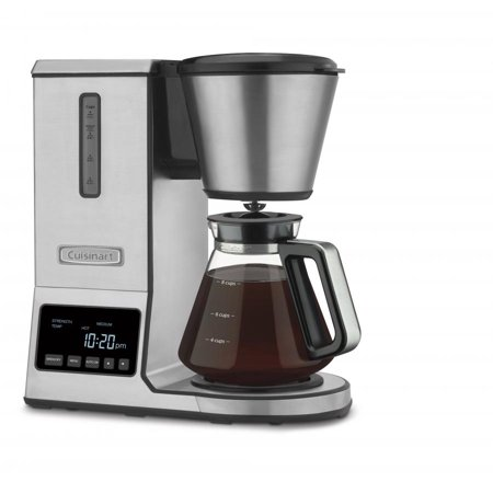 Cuisinart Pureprecision 8 Cup Pour Over Coffee Brewer With Glass