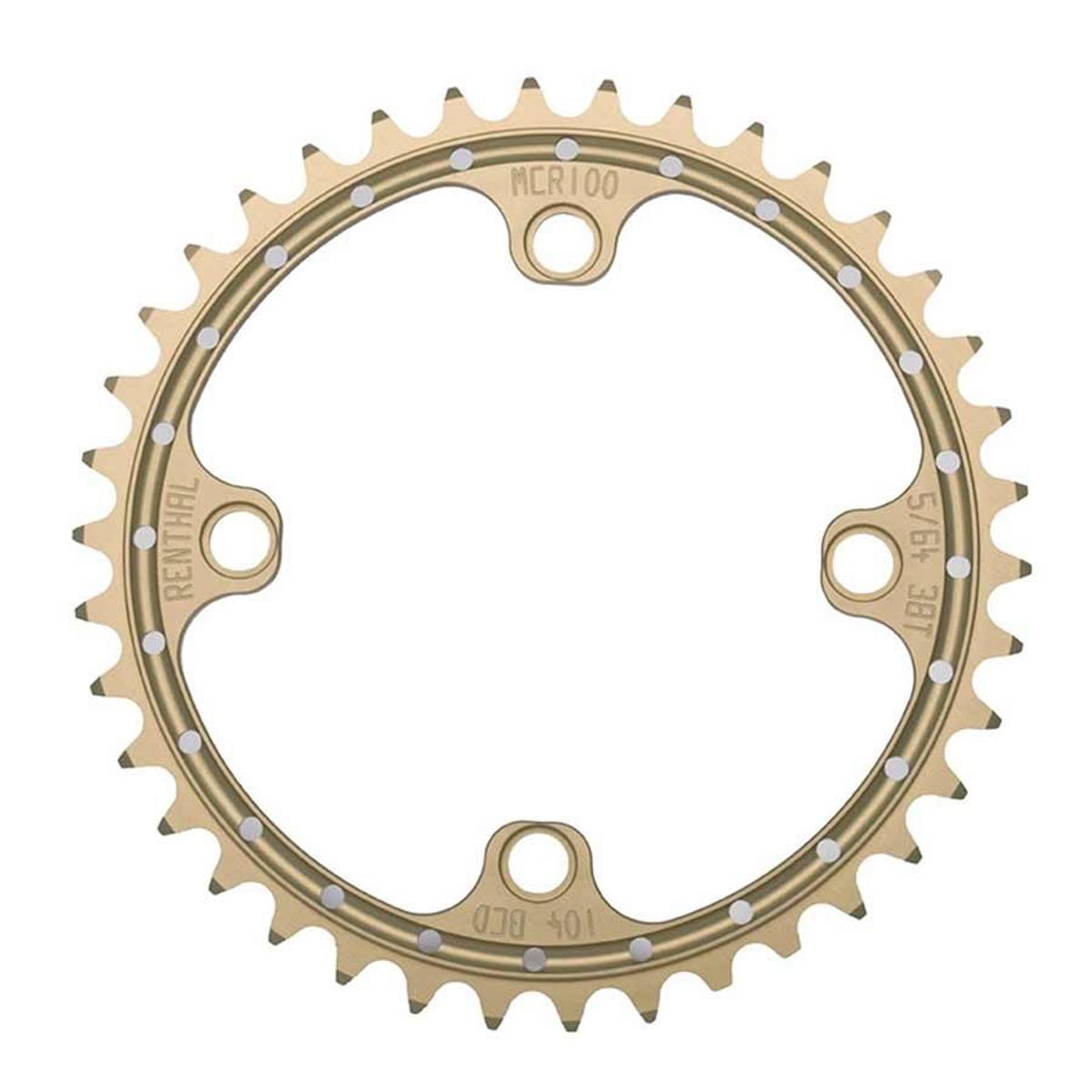 Renthal Sr4 Single Chainring 38Tx104Mm Alu Gold - 148598