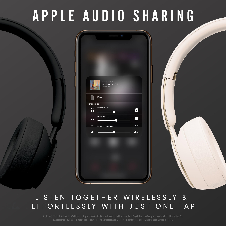 Beats Solo Pro Wireless Noise Cancelling On Ear Headphones With Apple H1 Headphone Chip Ivory Walmart Com Walmart Com