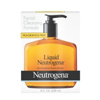 Neutrogena Facial Cleansing Liquid Facial Cleanser, Combination Skin, Fragrance Free, 8 fl oz