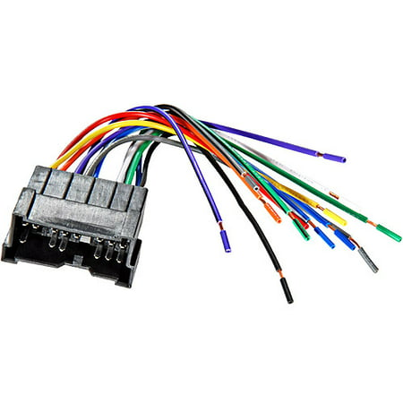 scosche hy03b- 2000-up hyundai sonata/accent speaker wire harness /  connector for car radio / stereo installation - walmart com