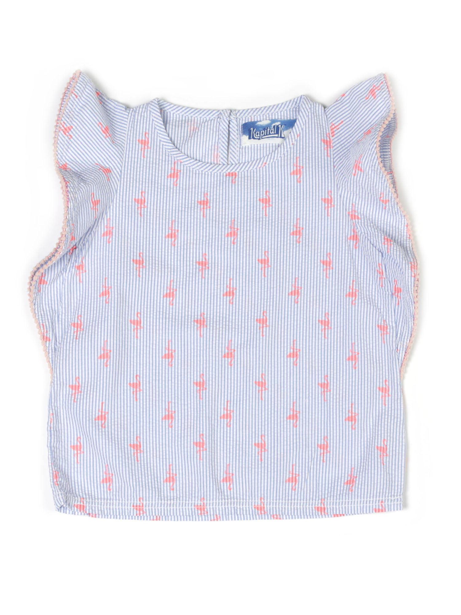 Ruffled Top (Baby Girls & Toddler Girls)