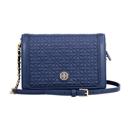 Tory Burch Bryant Ladies Small Quilted Combo Leather