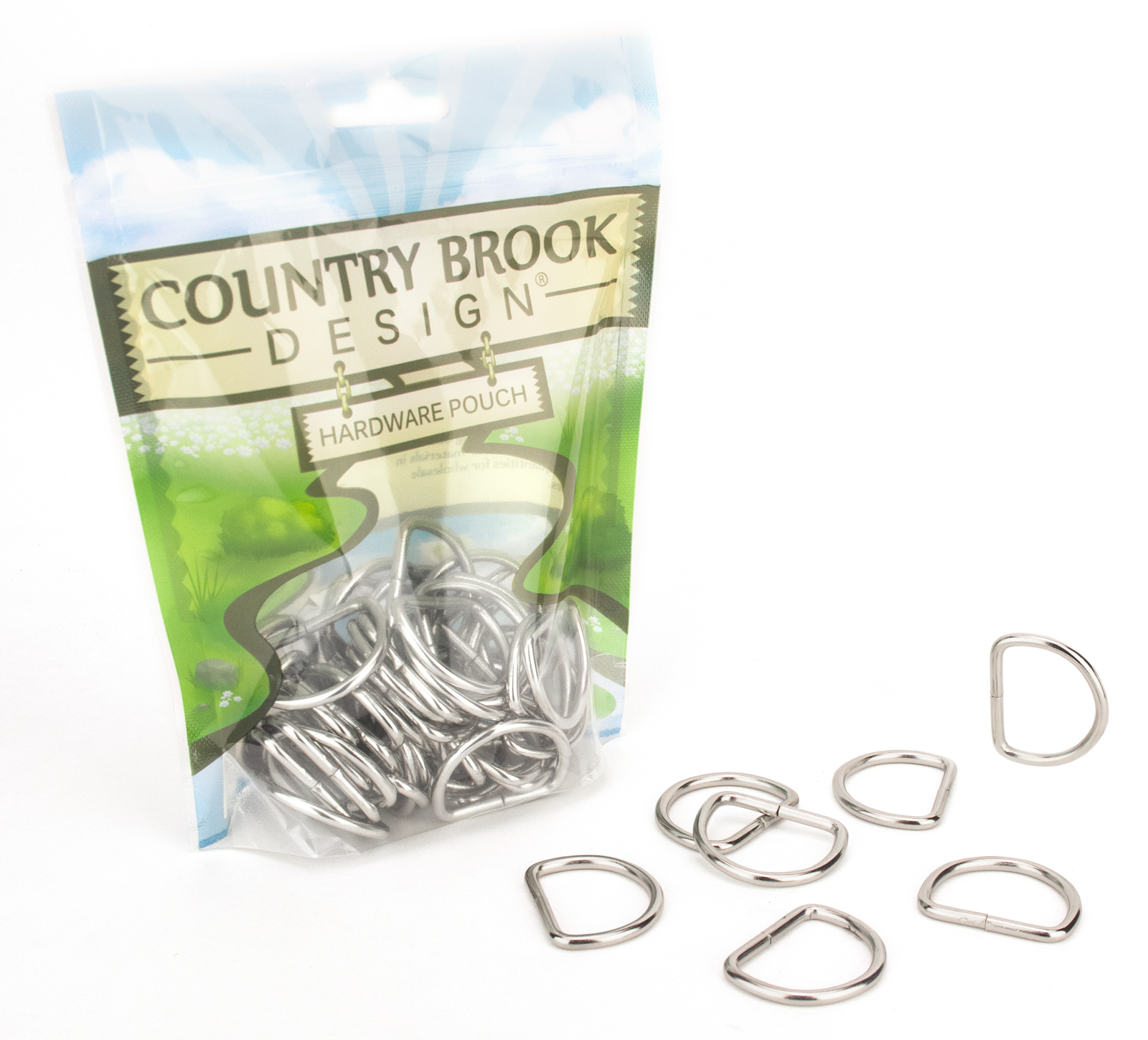 Country Brook Design® 1 Inch Non-Welded D-Rings