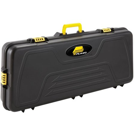 Plano PillarLock Parallel Limb Bow Case, Black Compact Double Bow Case