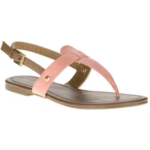Women's Two-tone Sandal