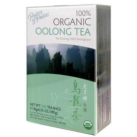 PRINCE OF PEACE ORGANIC Oolong TEA (NET WEIGHT: 100 TEA BAGS X 1.8G 6.35OZ /