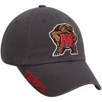 Men's Russell Charcoal Maryland Terrapins Washed Adjustable Hat - OSFA