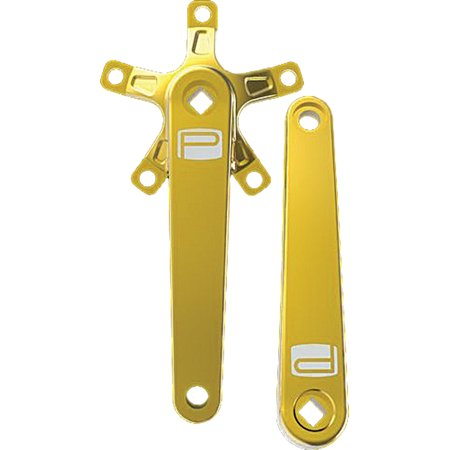 Promax SQ-1 Square Taper JIS Cold Forged Crank Arms 170mm Gold