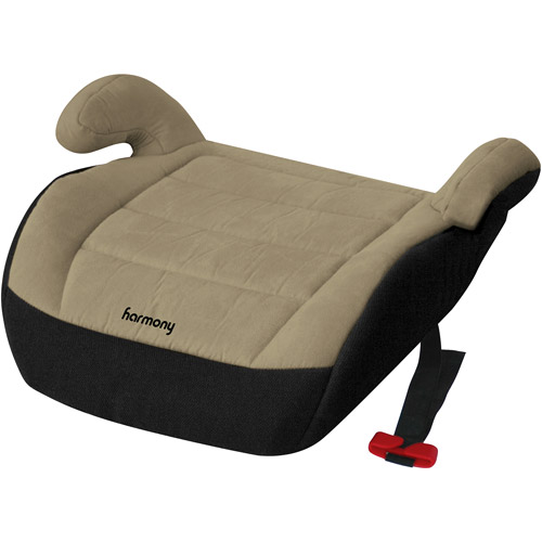 Harmony Juvenile Youth Backless Booster Car Seat, Beige