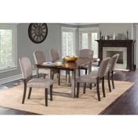 Hillsdale Furniture Emerson 7-Piece Rectangle Dining Set, Multiple Colors