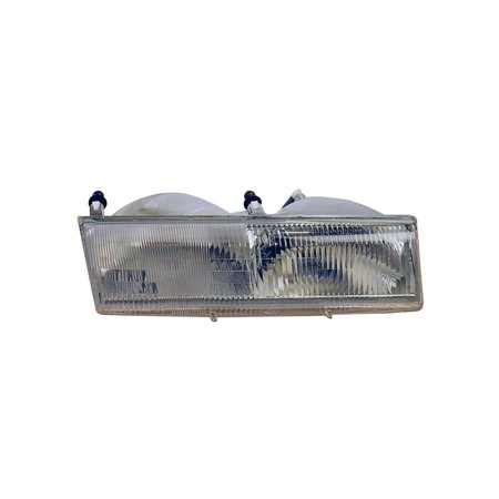 Replacement Driver Side Headlight For Mercury 89 90 Cougar 92 94